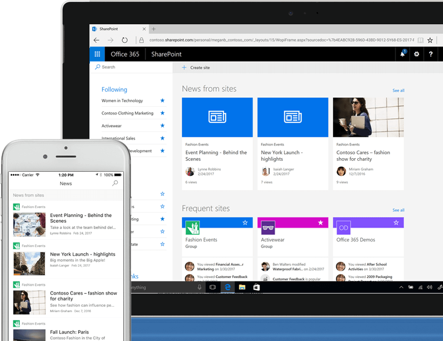Office 365 | SharePoint | Team Sites